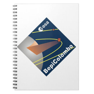 BepiColombo Spiral Notebook