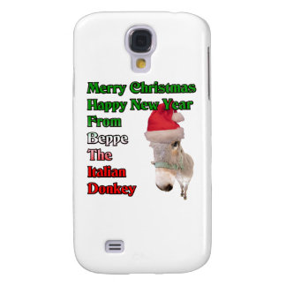 Beppe the Italian Christmas Donkey. Galaxy S4 Cases