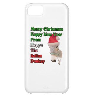 Beppe the Italian Christmas Donkey. iPhone 5C Cover
