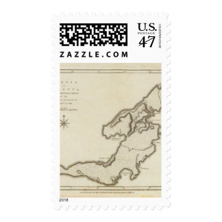 Bequia or Becouya Stamp