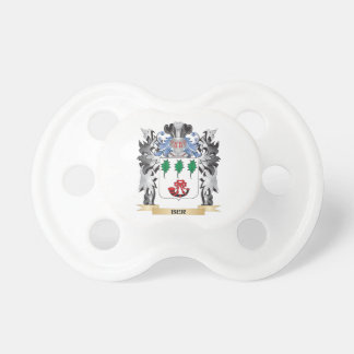 Ber Coat of Arms - Family Crest BooginHead Pacifier