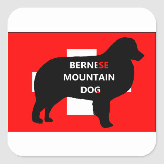 ber mt dog name silo switzerland flag.png square sticker