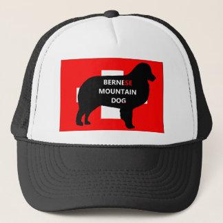 ber mt dog name silo switzerland flag.png trucker hat