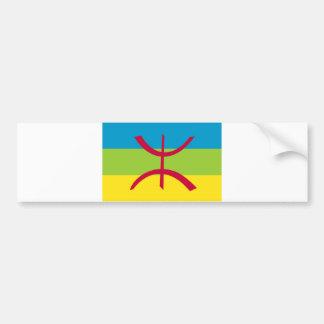 berber ethnic flag bumper sticker