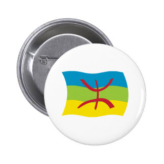 Berber People Flag Button