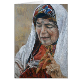 Berber Woman Card