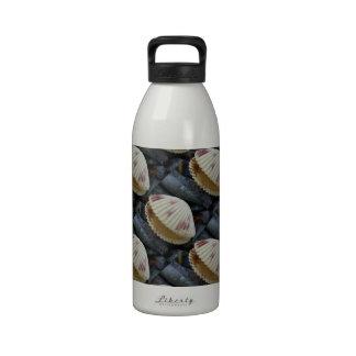 Berberecho manchado Shell Botella De Agua Reutilizable