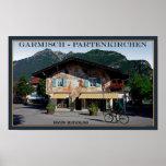 Berchtesgaden - Bavarian Biker Poster