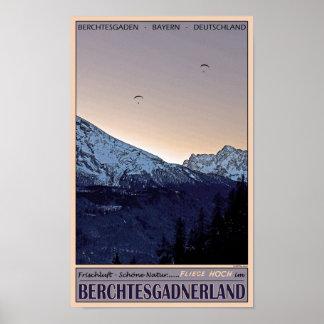 Berchtesgaden - Fliege Hoch! Poster