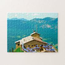 Berchtesgaden Kehlsteinhaus Germany. Jigsaw Puzzle