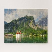 Berchtesgaden Lake Germany. Jigsaw Puzzle