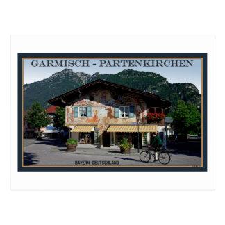 Berchtesgaden - motorista bávaro postales