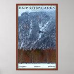 Berchtesgaden National Park - Winter Poster