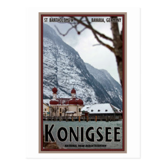 Berchtesgaden - St Bartholomew Postcard