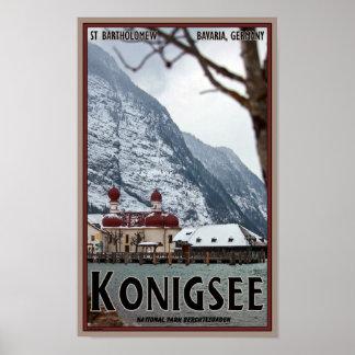Berchtesgaden - St Bartholomew Poster