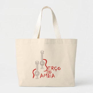 Berço hace la samba bolsa tela grande