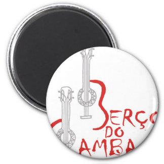 Berço hace la samba imán redondo 5 cm