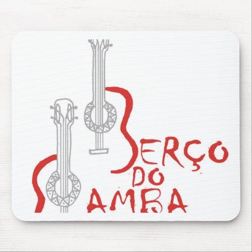 Berço hace la samba mouse pads