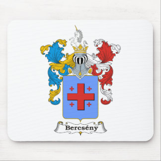 Bercseny_1 Family Hungarian Coat of Arms Mouse Pad
