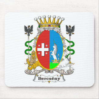 Bercseny_2 Family Hungarian Coat of Arms Mouse Pad
