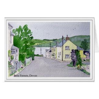 Bere Ferrers, Devon Card