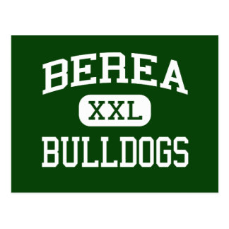 Berea - Bulldogs - High - Greenville Postcard