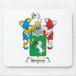 Berecz Family Hungarian Coat of Arms Mouse Pads