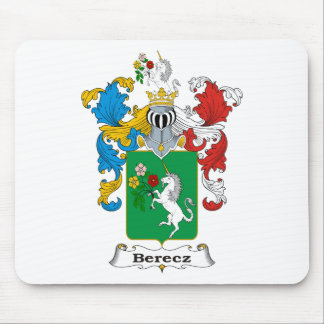 Berecz Family Hungarian Coat of Arms Mouse Pad
