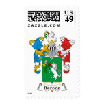 Berecz Family Hungarian Coat of Arms Postage Stamp