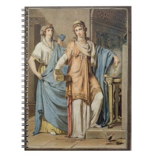 Berenice, costume for 'Berenice' by Jean Racine, f Notebook