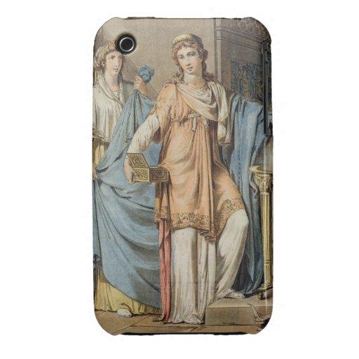 "Berenice, traje para ""Berenice"" por Jean Racine, f Case-Mate iPhone 3 Cárcasa"
