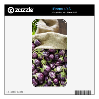 Berenjena de Kerelan iPhone 4 Skin