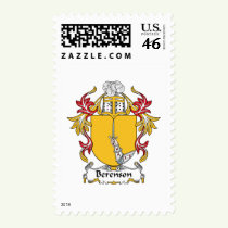 Berenson Family Crest Stamps