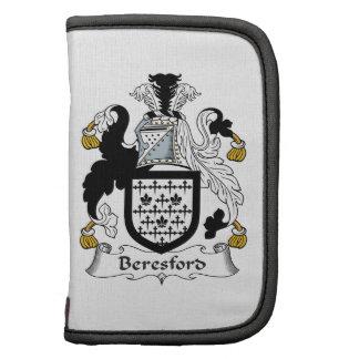 Beresford Family Crest Organizer