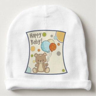 Beret Bear Balloons Baby Beanie