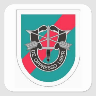 BERET FLASH/DUI 20TH SPECIAL FORCES GROUP STICKERS