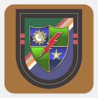 Beret Flash New 2D Bn RANGER Stickers