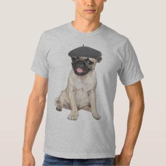 Beret Pug Shirt
