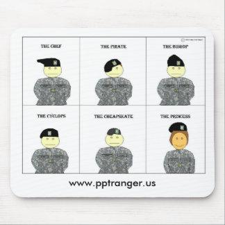 Beret, www.pptranger.us mouse pad