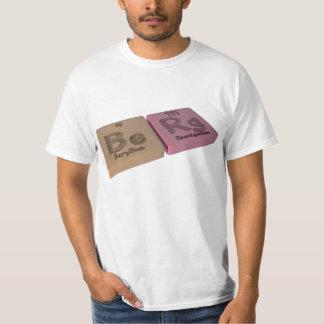 Berg as Be Beryllium and Rg Roentgenium T-shirt