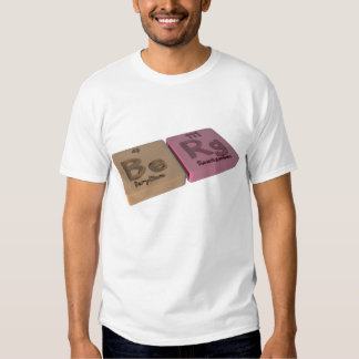 Berg as Be Beryllium and Rg Roentgenium T Shirts