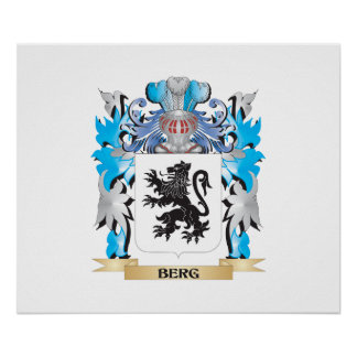 Berg Coat of Arms Posters