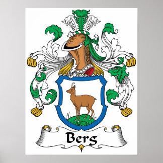Berg Family Crest Print