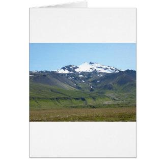 Berg in Island Karten