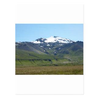Berg in Island Postkarten