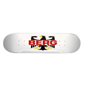 Berg Surname Skate Board