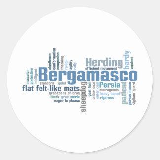 Bergamasco Classic Round Sticker