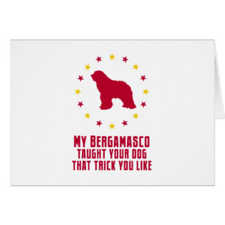 Bergamasco Sheepdog Cards