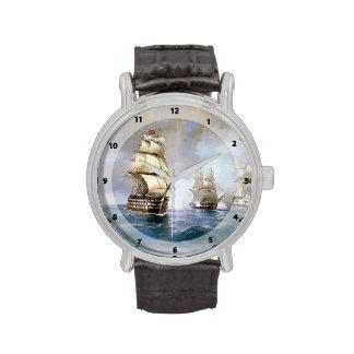 Bergantín Mercury de Ivan Aivazovsky- atacado por  Relojes De Mano