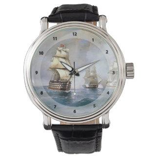 Bergantín Mercury de Ivan Aivazovsky- atacado por Reloj